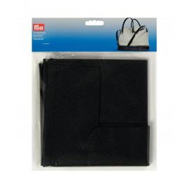 Faux leather bag bottom Prym Eve - black