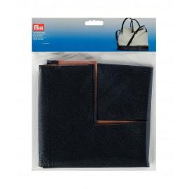 Faux leather bag bottom Prym Eve - blue