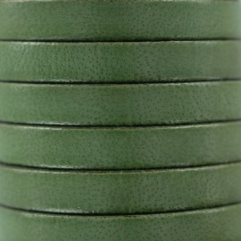 5 mm Flat Leather Strip - Avocat