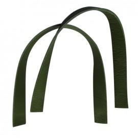 Square bag-handles, Moos - moss green