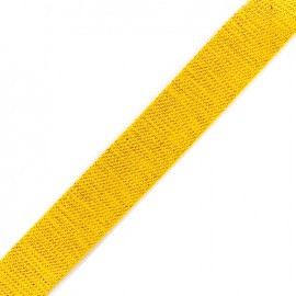 Lurex strap copper - yellow x 1m