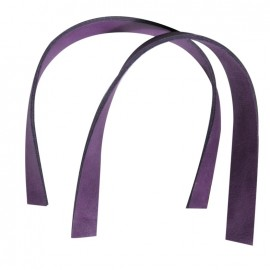 Square bag-handles, Prown - purple