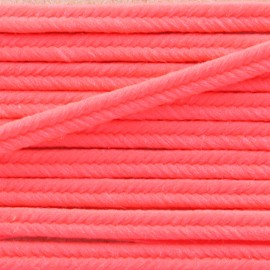 Vivo 2mm Braided Strip - neon pink x1m