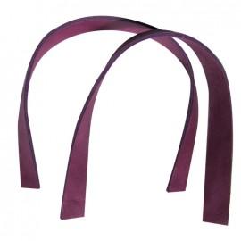 Square bag-handles, Ciclamino - plum