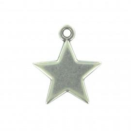 Breloque étoile avec anneau