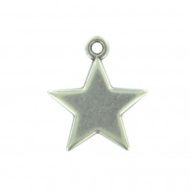 Star charm with ring