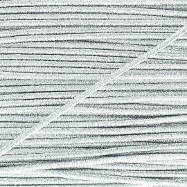 Cordon élastic Spectacle - argent x1m