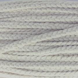 Jolie natte braid ribbon - light grey x 1m