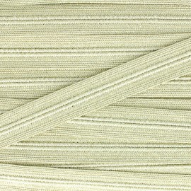 Galon maille lurex Spectacle - doré x1m