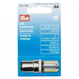 Ampoule de rechange LED Prym pour machine à coudre - à baïonnette