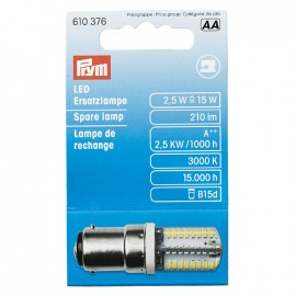 Bayonet spare LED bulb Prym for sewing-machine