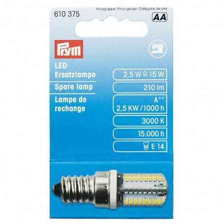 Bayonet spare LED bulb Prym for sewing-machine