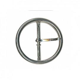 Boucle ceinture métal Jane - argenté