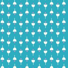 Dashwood cotton fabric Confetti - Flower Seed x 10cm