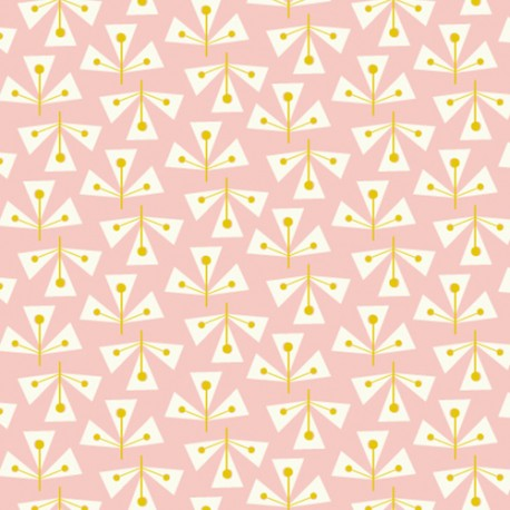 Dashwood cotton fabric Confetti - Dotty Leaf x 10cm
