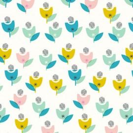 Dashwood cotton fabric Confetti - Flower Ball x 10cm