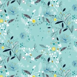 Tissu coton Dashwood Norrland - Foliage x 15cm