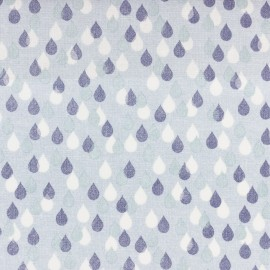 Dashwood cotton fabric Birdsong- Raindrops x 10cm