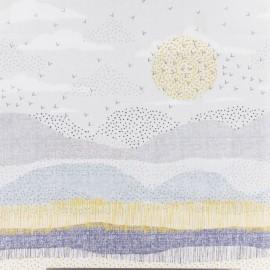 Dashwood cotton fabric Birdsong- Horizon x 31cm