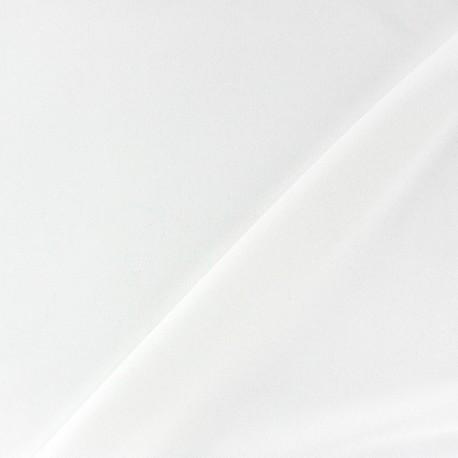 Tissu gainant résille silhouette - blanc x 10 cm