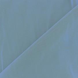 Tissu gainant résille silhouette - bleu horizon x 10 cm