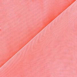 Tissu gainant résille silhouette - rose incarnadin x 10 cm