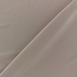 Tissu gainant résille silhouette - gris x 10 cm