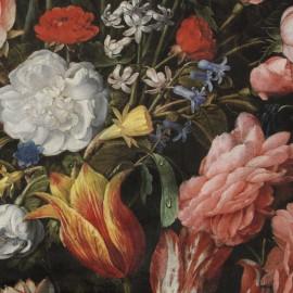 Tissu velours fluide impression digitale - Tulip x 64cm