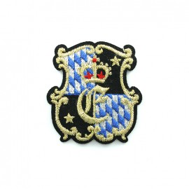 Armoiries Embroidered iron-on patch - 1520