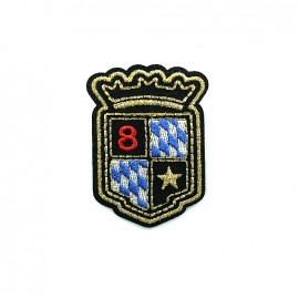 Armoiries Embroidered iron-on patch - 1512