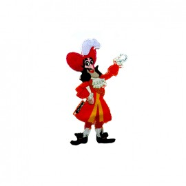 Jake and the neverland pirates iron-on patch - Captain Hook