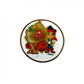 Jake and the neverland pirates iron-on patch - Neverland