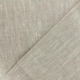 Tissu toile lin - Linthal naturel x 10cm