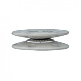 Bouton pression à coudre Cercle - gris