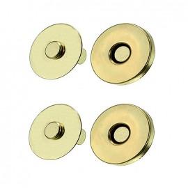 Fermoir magnétique 19 mm - or