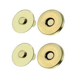 Magnetic Bag Clasps 19 mm - gold
