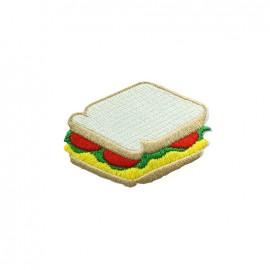 Thermocollant brodé America America - sandwitch