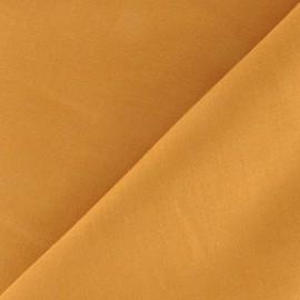 Tissu voile de coton - ocre x 10cm