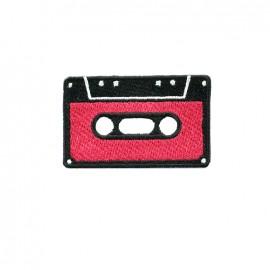 Thermocollant brodé La boum de martine - cassette rouge