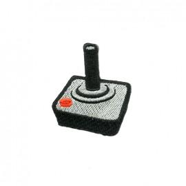 La boum de martine embroidered iron-on patch - joystick