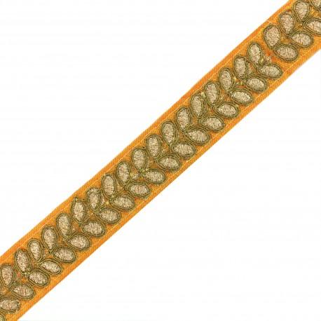 Trimming ribbon India Aloki - orange x 50cm