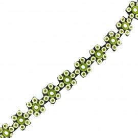 Braid Trimming, India Atasi  - Green x 50cm