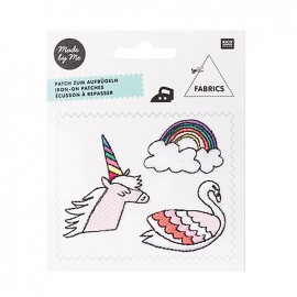 Thermocollant brodé Magical summer - licorne & cie