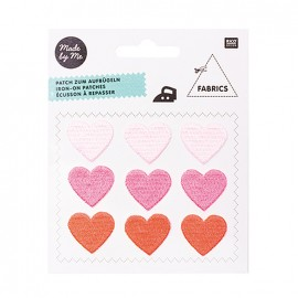 Magical summer iron-on patch - heart