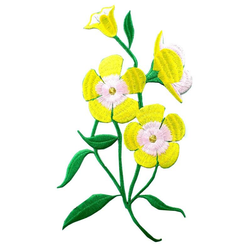 Thermocollant brod elegante nature amaryllis jaune for Amaryllis jaune