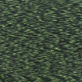 Polyester lycra Sport fabric - green x 10cm