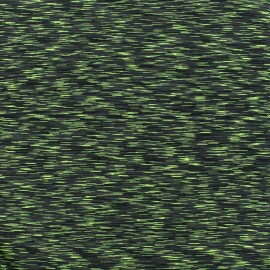 Tissu polyester lycra Sport - vert x 10cm