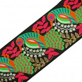 Ruban Galon India Lalitha - noir x 50cm