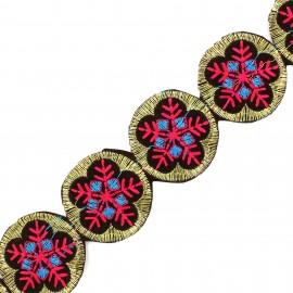 Galon India Ladli - rose x 50cm