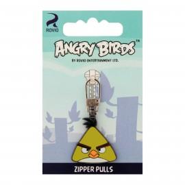 Angry Birds zipper pull - Chuck A